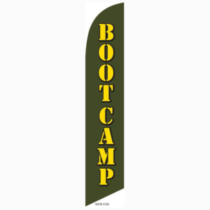 Bootcamp Feather Flag