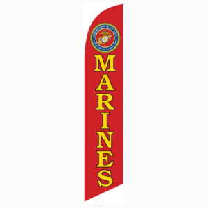 Marines Feather Flag